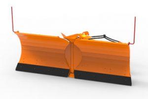 Отвал V-образный для снега АДЗ-211.46.61.000
