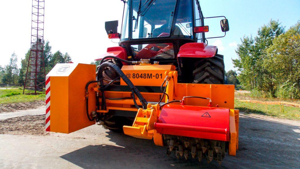 Машины фрезерные Амкодор 8048М и Амкодор 8048М-01