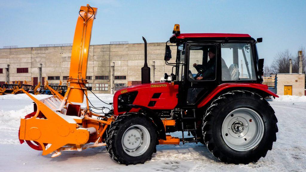 Снегоочиститель фрезерно-роторный Амкодор 9211А1