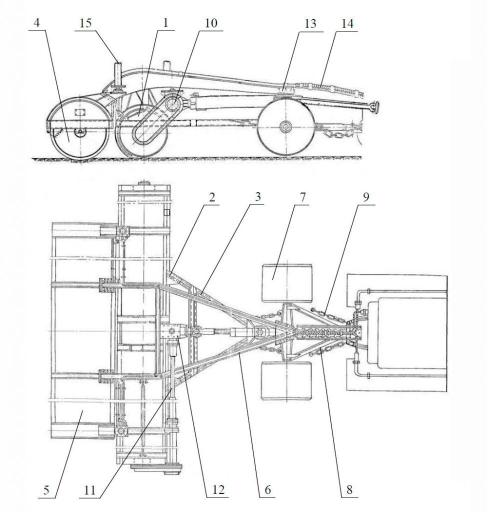 Профилировщик торфяной шнековый Амкодор АТ-51